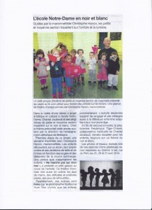 Article de Ouest France (novembre 2013)