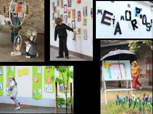 Exposition Métamorphose (mai 2010) à l'école Notre Dame de Redon