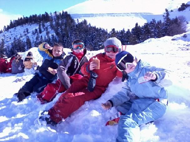 Classe de neige 2014 de l'école Notre Dame de Redon