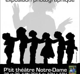 """Exposition """"L'ombre en lumière"""" de la classe PS/MS de Chantal"""